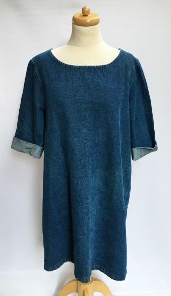 Suknie i sukienki Sukienka Dzinsowa Oversize Monki L 40 Jeansowa Dzins