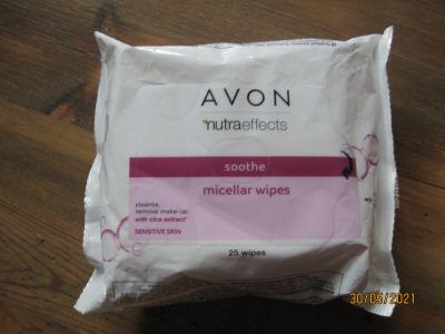 Twarz Chusteczki micelarne Avon