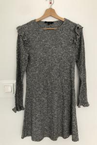 New Look szara sukienka...