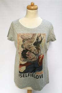 Bluzka T Shirt Koszulka Szara NOWA L 40 Wonder Woman...