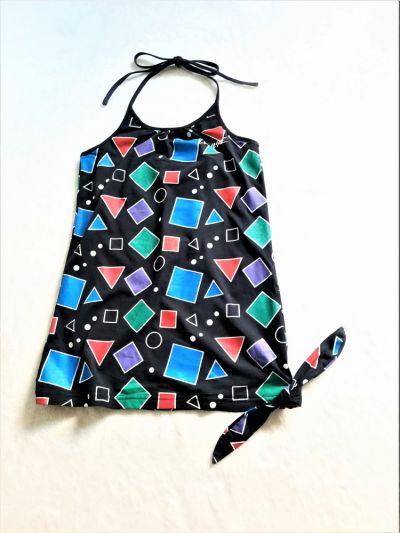 Bluzki Top w geometryczne wzory S LowLife