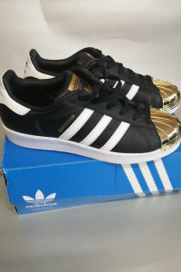Adidas Superstar Metal Toe Gold Toe...