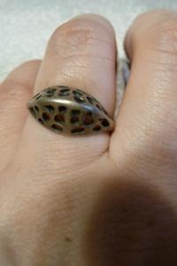 pierścionek srebrny siateczka próba 3