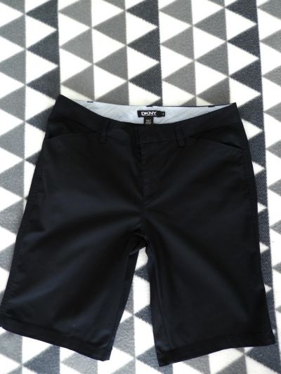 Spodenki Spodnie Donna Karan DKNY Bermudy Szorty Czarne M