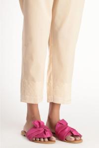 Nowe spodnie indyjskie M 38 bawełniane beżowe haft salwar szarawary cygaretki Bollywood boho