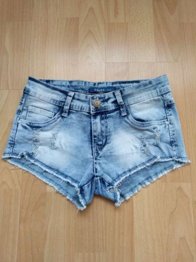 Spodenki Jeansowe podarte szorty xs s