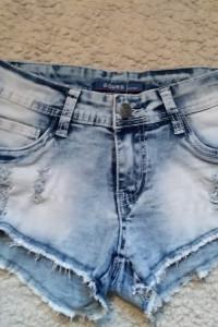 Jeansowe podarte szorty xs s...
