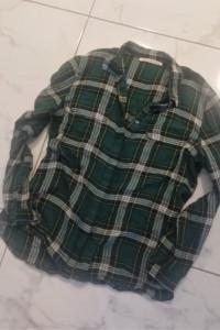 Zielona koszula w kratkę custommade...