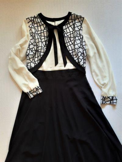 Suknie i sukienki Wizytowa długa sukienka 44 Ozveri