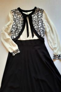 Wizytowa długa sukienka 44 Ozveri...