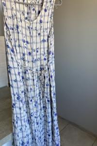 retro vintage sukienka maxi kwiaty kratka...