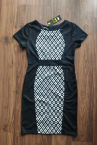 Czarna elegancka sukienka rozm 38...