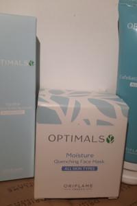 Zestaw do pielęgnacji twarzy Optimals Oriflame...