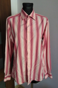 Różowa męska Koszula PINK Thomas Pink Jermyn Street London 15 3...