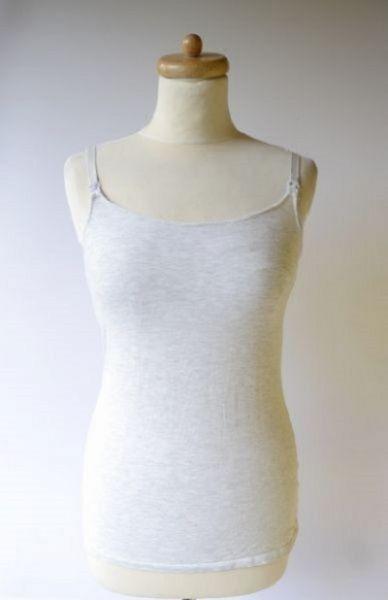Bluzki Bluzka Koszulka Szara H&M Mama Do Karmienia S 36