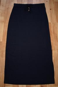 Granatowa spódnica S