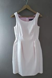 Sukienka pudrowy róż 34 XS...
