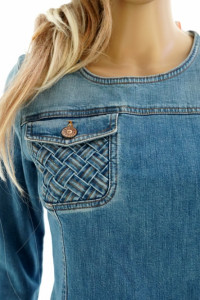 See By Chloe nowa oryg sukienka jeansowa...