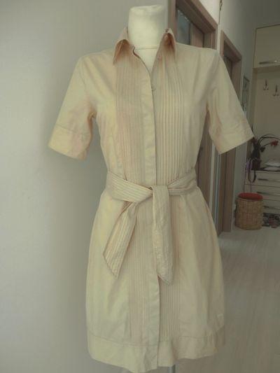 Suknie i sukienki Sukienka Tommy Hilfiger Koszulowa Szmizjerka Rozpinana Mojave M