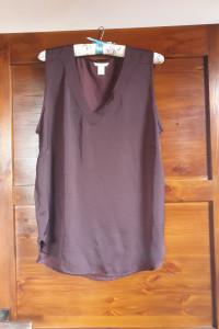 Fioletowa bluzka H&M...