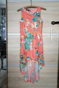 Sukienka asymetryczna S...