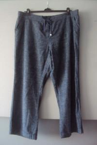 lniane melanżowe spodnie...