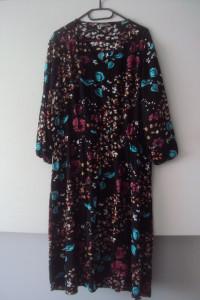sukienka w liscie...