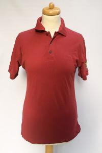 Koszulka Polo Hugo Boss Bordowa Bawełna S T Shirt Bluzka...
