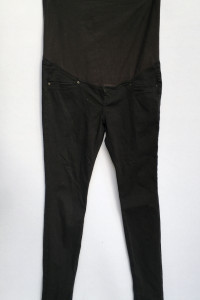 Spodnie H&M Mama Tregginsy Granatowe Ciemne Rurki S 36...