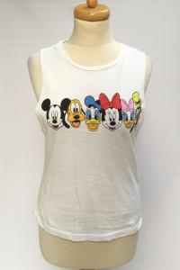 Bluzka Koszulka T Shirt Biała Disney M 38 Myszka Miki...