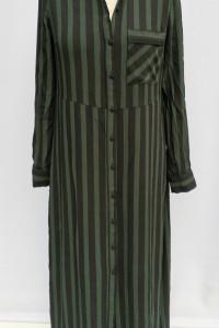 Sukienka Koszulowa Paski Pasy S 36 Selected Femme...