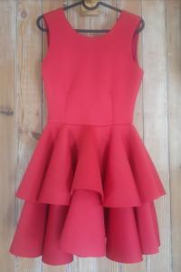 Czerwona sukienka Emo rozmiar S...