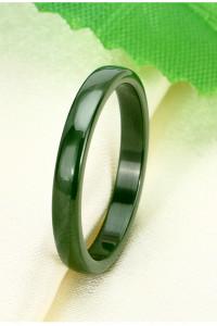 Nowy pierścionek obrączka zielona zieleń ceramiczna ceramika ci...