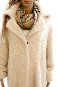 Karl Lagerfeld nowy oryg płaszcz wełniany bukle...