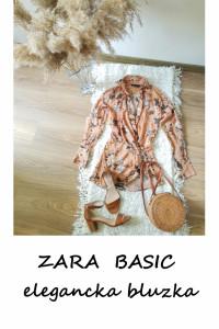 Elegancka bluzka w kwiaty Zara XS...