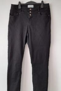 New Look Czarne elastyczne rurki skinny wysoki stan 42...