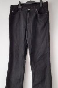 Mustang Tramper Czarne męskie jeansy W35 L32