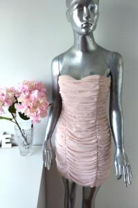 H&M Mini Sukienka Wesele Pudrowy Róż rozmiar M 38...