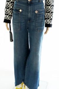 Pinko nowe oryg jeansy luźne nogawki...