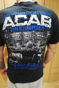 T shirt męski ACAB 2 szt M i L