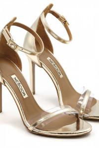 Sandałki złote Neścior...