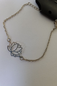 bransoletka kwiat lotosu...