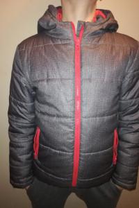 Młodzieżowa chłopięca kurtka zimowa 152 cm