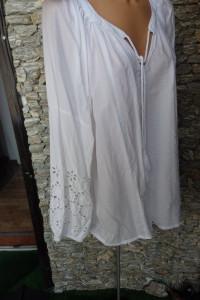 Przepiękna biała bluzka