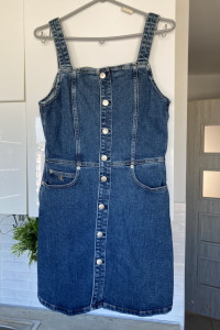 Calvin Klein sukienka nowa jeansowa jeans guziki...