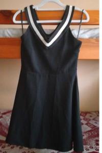 Czarna sukienka krótka mini bez rękawów Atmosphere rozm S 36 br...