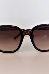 Brązowe okulary must have klasyka panterka okulary przeciwsłoneczne