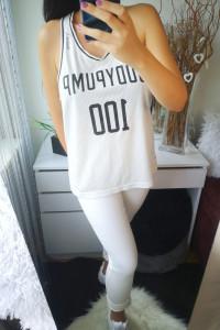 Reebok Oryginalna Bluzka damska top biała L...
