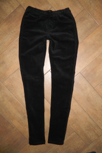 Cubus spodnie sztruksowe rurki roz S...