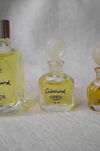 Trzy miniaturki Cabochard Gres